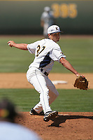 June 5, 2010: David Starn of Kent State during NCAA Regional game against UC Irvine at Jackie Robinson Stadium in Los Angeles,CA.  Photo by Larry Goren/Four Seam Images