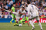 Carlos Henrique Casemiro of Real Madrid in action during their 2016-17 UEFA Champions League match between Real Madrid vs Sporting Portugal at the Santiago Bernabeu Stadium on 14 September 2016 in Madrid, Spain. Photo by Diego Gonzalez Souto / Power Sport Images