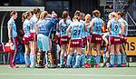 DEN BOSCH - Team van UHC    tijdens  de finale van de EuroHockey Club Cup, Den Bosch-UHC Hamburg (2-1).  .COPYRIGHT KOEN SUYK