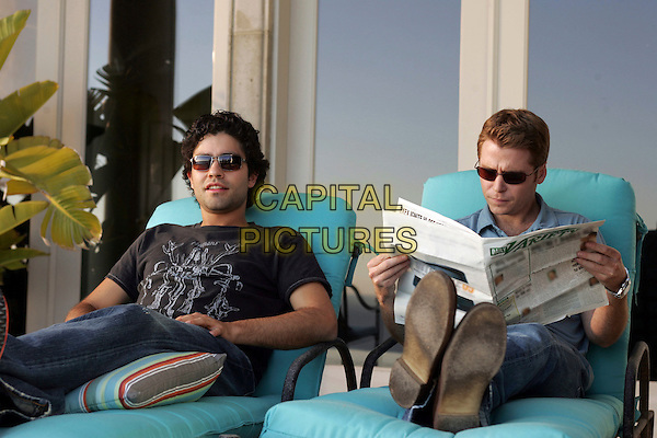 KEVIN CONNOLLY & ADRIAN GRENIER.in Entourage.Year 2.*Editorial Use Only*.www.capitalpictures.com.sales@capitalpictures.com.Supplied by Capital Pictures.