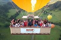 20160209 February 09 Hot Air Balloon Gold Coast