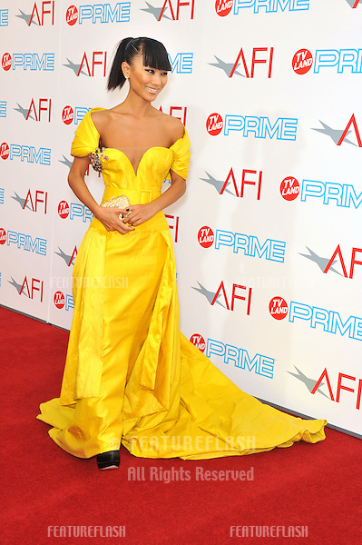 Bai Ling at the 37th AFI Life Achievement Award Gala at Sony Studios, Los Angeles, where Michael Douglas was honored with the AFI's Life Achievement Award..The show will air in the US on TV Land Prime on July 19th..June 11, 2009  Los Angeles, CA.Picture: Paul Smith / Featureflash