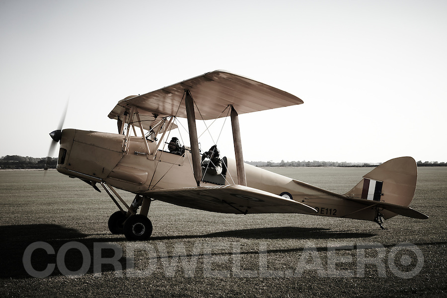 De Havilland DH82A ger Tiger Moth Biplane