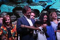 BOGOTÁ - COLOMBIA, 17-06-2018:Gustavo Petro perdió con Iván Duque durante las elecciones para presidente de Colombia  2018 segunda vuelta y definitiva./Presidential elections in Colombia 2018. Photo: VizzorImage / Felipe Caicedo / Satff