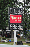 1-3 June, 2012, Englishtown, NJ, USA, Toyota, signage @2012, Mark J. Rebilas