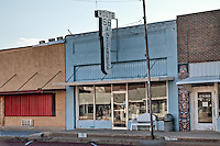 Downtown Mclean Texas, a historic Route 66 town tha has nearly died.