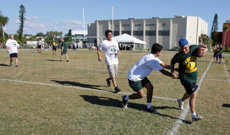 The LaSalle Alumni football game and Pig Roast on Friday, October 8, 2010.