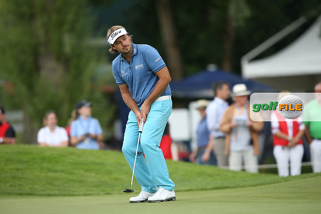 Victor Dubuisson (FRA) putting on the 9th during Round One of the 2015 BMW International Open at Golfclub Munchen Eichenried, Eichenried, Munich, Germany. 25/06/2015. Picture David Lloyd | www.golffile.ie