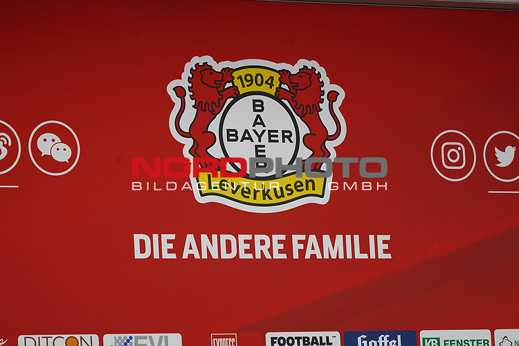 04.01.2019, BayArena, Leverkusen, GER, 1. FBL,  Bayer 04 Leverkusen PK Trainerwechsel,<br />  <br /> DFL regulations prohibit any use of photographs as image sequences and/or quasi-video<br /> <br /> im Bild / picture shows: <br /> erste Pressekonferenz von Peter Bosz Trainer / Headcoach (Bayer 04 Leverkusen),<br /> <br /> Foto © nordphoto / Meuter