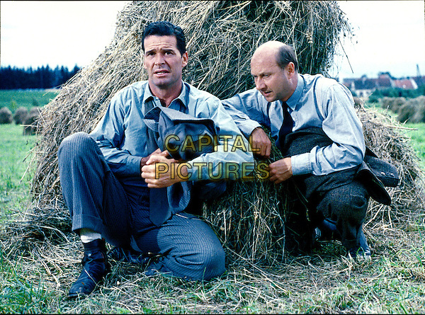 James Garner &amp; Donald Pleasence <br /> in The Great Escape (1963) <br /> *Filmstill - Editorial Use Only*<br /> CAP/NFS<br /> Image supplied by Capital Pictures