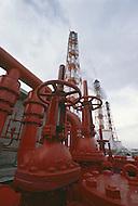 October, 1980. Nagoya, Japan. Petrol chemical complex near Nagoya.