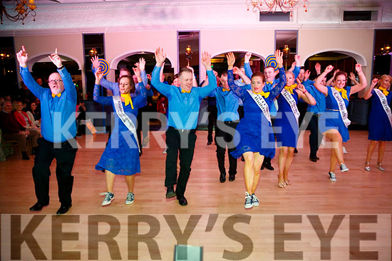 The Dancers taking part in the group dance at Ballymac Strictly Come Dancing, at Ballygarry House Hotel & Spa, Tralee, on Saturday night last.