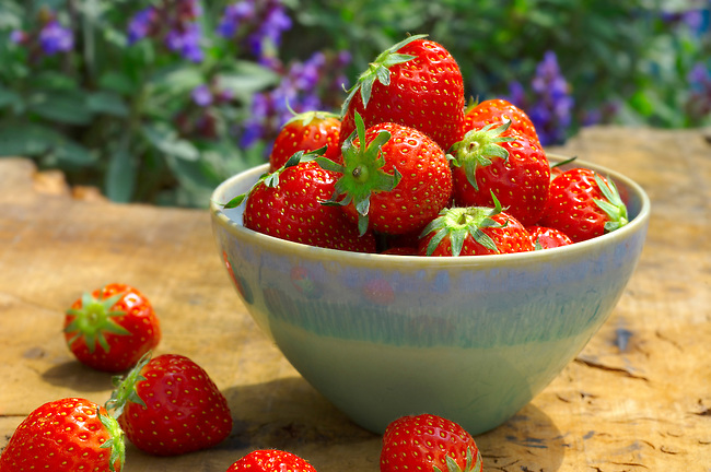 Fresh English Strawberries