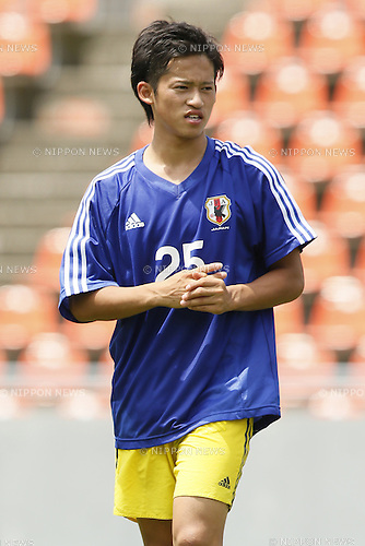 Ryoma Ishida,<br /> JULY 1, 2014 - Football / Soccer : <br /> Training match between U-19 Japan 1-2 Omiya Ardija<br /> at NACK5 Stadium Omiya, Saitama, Japan. <br /> (Photo by SHINGO ITO/AFLO SPORT)
