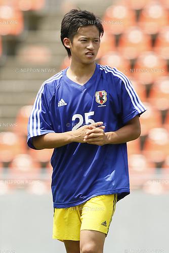 Ryoma Ishida,<br /> JULY 1, 2014 - Football / Soccer : <br /> Training match between U-19 Japan 1-2 Omiya Ardija<br /> at NACK5 Stadium Omiya, Saitama, Japan. <br /> (Photo by SHINGO ITO/AFLO SPORT)