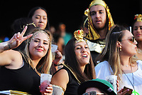 Fans on day one of the 2018 HSBC World Sevens Series Hamilton at FMG Stadium in Hamilton, New Zealand on Saturday, 3 February 2018. Photo: Dave Lintott / lintottphoto.co.nz