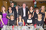 Members of staff from Sliabh a Mhadra N.S., Ballyduff pictured enjoying their christmas bash  held in The Ballyroe Heights Hotel on Friday night. Seated l/r Morna O'Halloran, Elaine Goulding, Norma O'Carroll and Rita Goulding, standing l/r Sinead Keane, Margaret Broderick, Maurice O'Connor, Kay Keane, Jim McEllistrum, Mary O'Connell, Breda O'Dwyer and Audrey Costelloe.