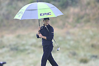 Danny Willett (ENG) on the 8th green during Sunday's Final Round of the 148th Open Championship, Royal Portrush Golf Club, Portrush, County Antrim, Northern Ireland. 21/07/2019.<br /> Picture Eoin Clarke / Golffile.ie<br /> <br /> All photo usage must carry mandatory copyright credit (© Golffile | Eoin Clarke)