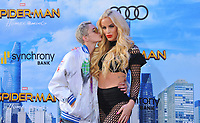 www.acepixs.com<br /> <br /> June 28 2017, LA<br /> <br /> GiGi Gorgeous (R) and Nats Getty arriving at the premiere of Columbia Pictures' 'Spider-Man: Homecoming' at the TCL Chinese Theatre on June 28, 2017 in Hollywood, California.<br /> <br /> By Line: Peter West/ACE Pictures<br /> <br /> <br /> ACE Pictures Inc<br /> Tel: 6467670430<br /> Email: info@acepixs.com<br /> www.acepixs.com