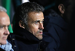 Manager of Barcelona Luis Enrique  during the Champions League match at Celtic Park, Glasgow. Picture Date: 23rd November 2016. Pic taken by Lynne Cameron/Sportimage