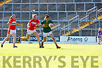 Emma Sherwood Kerry goes past Niamh Cotter Cork during their Munster Championship clash in Fitzgerald Stadium on Saturday evening