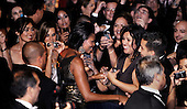 First Lady Michelle Obama greets guest at the Congressional Hispanic Caucus Institute's 33rd Annual Awards Gala at the Washington Convention Center in Washington D.C., Wednesday, September 15 2010..Credit: Olivier Douliery / Pool via CNP