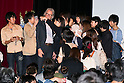 British fashion designer Sir Paul Smith takes pictures with students of Waseda University on October 5, 2015, Tokyo, Japan. The Paul Smith brand is hugely popular in Japan, which is its biggest international market, and thousands of students could not enter the full capacity lecture hall to listen the designer. Sir Paul ended up speaking twice to give those who couldn't enter the first lecture a chance to participate. (Photo by Rodrigo Reyes Marin/AFLO)