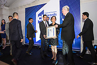 CT Awards 2017 in Fullerton Hotel, Singapore, on 7 March 2018. Photo by Steven Lui/Studio EAST