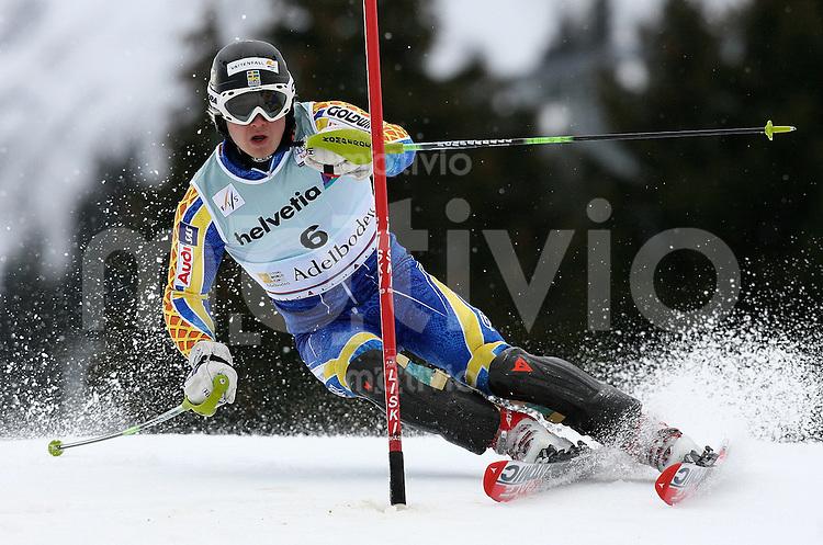 Ski Alpin;  Saison 2006/2007   06.01.2007 42. Weltcup Slalom  Herren Jens Byggmark (SWE)