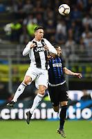 Cristiano Ronaldo of Juventus , Danilo D'Ambrosio of Internazionale <br /> Milano 27-04-2019 Stadio Giuseppe Meazza <br /> Football Serie A 2018/2019 FC Internazionale - Juventus FC <br /> photo Image Sport / Insidefoto