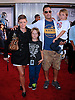 """NATALIE MAINES AND ADRIAN PASDAR WITH CHILDREN.attends the World Premiere of """"Real Steel"""" at the Gibson Amphitheatre, Universal City, California_02/10/2011.Mandatory Photo Credit: ©Crosby/Newspix International. .**ALL FEES PAYABLE TO: """"NEWSPIX INTERNATIONAL""""**..PHOTO CREDIT MANDATORY!!: NEWSPIX INTERNATIONAL(Failure to credit will incur a surcharge of 100% of reproduction fees).IMMEDIATE CONFIRMATION OF USAGE REQUIRED:.Newspix International, 31 Chinnery Hill, Bishop's Stortford, ENGLAND CM23 3PS.Tel:+441279 324672  ; Fax: +441279656877.Mobile:  0777568 1153.e-mail: info@newspixinternational.co.uk"""