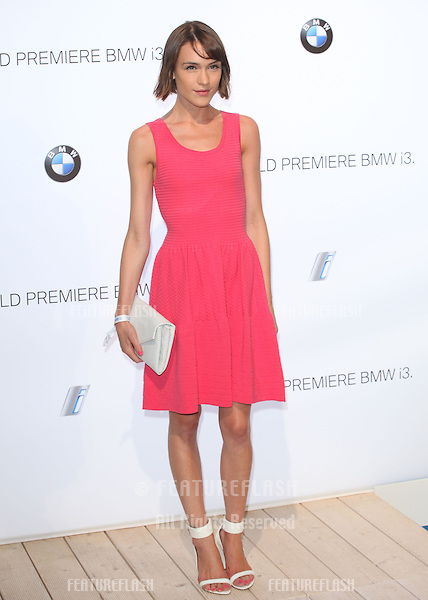 Ella Catliff arriving for the BMW i3 Launch Party, at Old Billingsgate, London. 29/07/2013 Picture by: Alexandra Glen / Featureflash