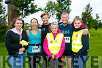 At the Rose of Tralee 10k in the Tralee Wetlands on Sunday were Rebecca O'Connor, Cathy Jordan, Fiona O'Connor, Lucy O'Connor, Paul O'Connor and Grace O'Connor
