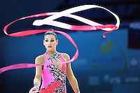 August 29, 2013 - Kiev, Ukraine - DORA VASS of Hungary performs at 2013 World Championships.