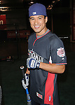 Mario Lopez at the MLB All Star Fanfest Batting Practice held at The Anaheim Convention Center , the precursor to The All Star Legends Celebrity Softball game in Anaheim, California on July 11,2010                                                                               © 2010 Debbie VanStory / Hollywood Press Agency