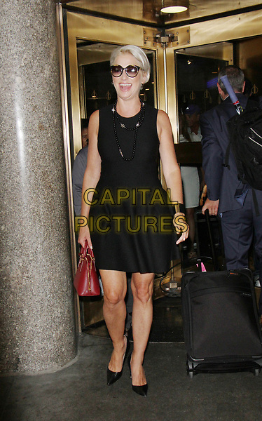 NEW YORK, NY August 23, 2017 Dorinda Medley at New York Live to talk about the current season of The Real Housewives of New York City in  New York August 23 2017.<br /> CAP/MPI/RW<br /> &copy;RW/MPI/Capital Pictures