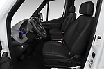 Front seat view of a 2019 Mercedes Benz Sprinter-Crew-Van Base 4 Door Combi front seat car photos