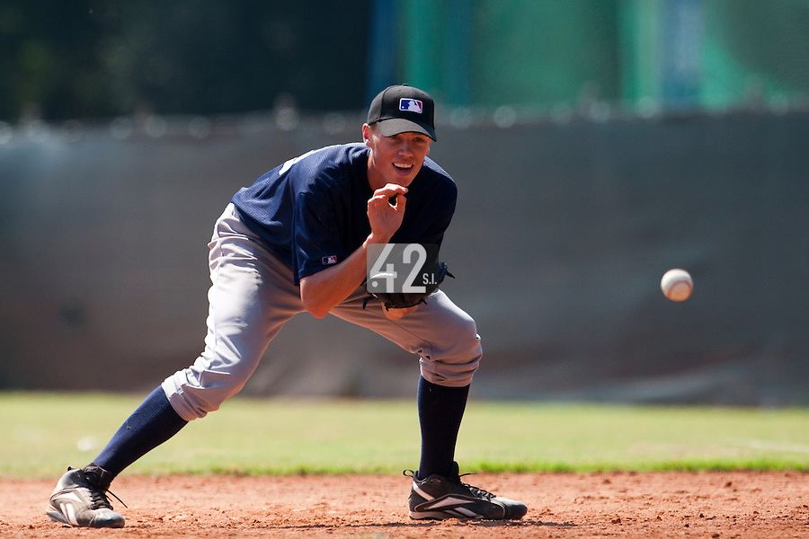 Baseball - MLB Academy - Tirrenia (Italy) - 19/08/2009 - Kevin Weijgertse (Netherlands)