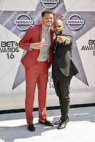 LOS ANGELES, CA - JUNE 26: Christon Gray, Kirk Franklin at the 2016 BET Awards at the Microsoft Theater on June 26, 2016 in Los Angeles, California. Credit: Koi Sojer/MediaPunch