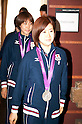 Japan Women's Table Tennis Silver Medalist at FCCJ