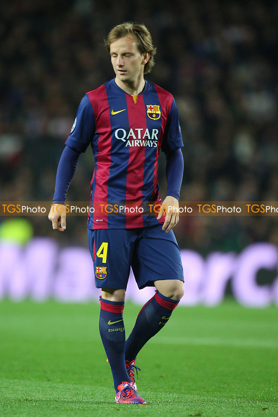 Ivan Rakitic of FC Barcelona - FC Barcelona vs Manchester City - European Champions League Round of Sixteen Football at the Camp Nou Stadium on  18/03/15 - MANDATORY CREDIT: Dave Simpson/TGSPHOTO - Self billing applies where appropriate - 0845 094 6026 - contact@tgsphoto.co.uk - NO UNPAID USE