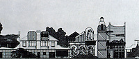 Archigram:  Addhox, 1971--a suburban sequence.  Peter Cook.  Photo '77.