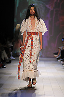 Vivienne Tam<br /> catwalk fashion show at New York Fashion Week<br /> Spring Summer 2018<br /> in New York, USA September 2017.<br /> CAP/GOL<br /> &copy;GOL/Capital Pictures