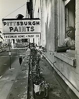 1958 Spring.Redevelopment...Downtown North (R-8)..Friedman Hardware & Paint Co...Neal Clark Jr..NEG#.NRHA# 3373..Sleeve 123, Neg 12.