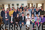 Pat and Helena Joy Glenflesk celebrate the christening of their son Maurice with family and friends in the Kerry Way bar, Glenflesk on Saturday