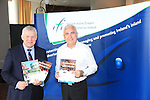 padraig Kierans and Fergus O'Dowd TD ahead of the Conference in the D Hotel.Picture:  Fran Caffrey/www.newsfile.ie