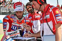 Aragon 24-09-2017 Moto Gp Spain photo Luca Gambuti/Image Sport/Insidefoto <br /> nella foto: Andrea Dovizioso