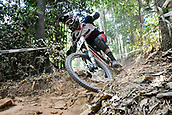 8th September 2017, Smithfield Forest, Cairns, Australia; UCI Mountain Bike World Championships; Markus Pekoll (AUT) riding for MS Mondraker Team during the downhill official timed session;