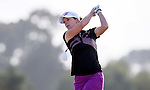 Stacey Tate. Clearwater Golf Course, Christchurch, New Zealand, Thursday 11 February 2016. Photo: Simon Watts / BWmedia for NZ Golf<br /> All images &copy; NZ Golf and BWMedia.co.nz