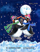 GIORDANO, CHRISTMAS ANIMALS, WEIHNACHTEN TIERE, NAVIDAD ANIMALES, paintings+++++,USGI2493,#XA#